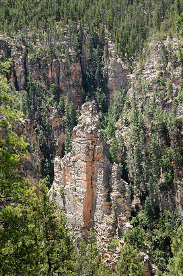 Pinnacle in West Clear Creek