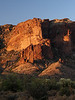 Sunrise on the Superstition Cliffs