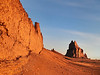 Shiprock and the Golden Wall