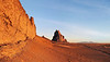 Shiprock and the Golden Wall Panorama