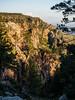 Rim cliffs in the evening