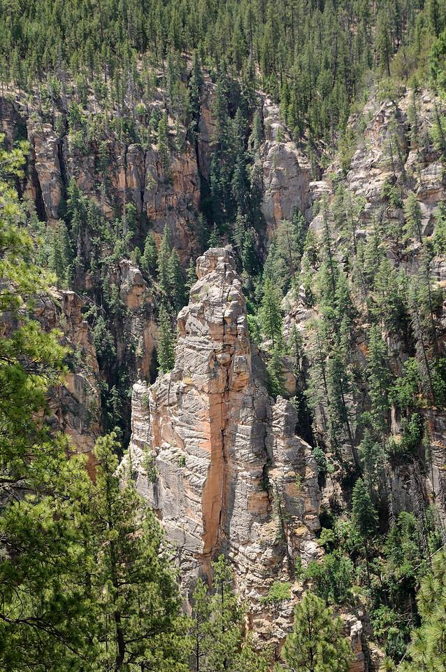 Pinnacle in West Clear Creek