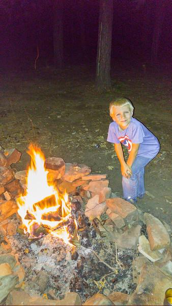 Brandon's first fire