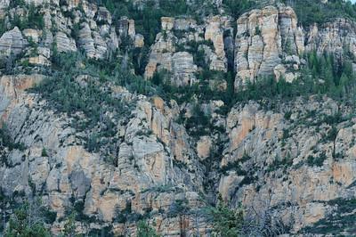 Cliffs above Bear Wallow Canyon